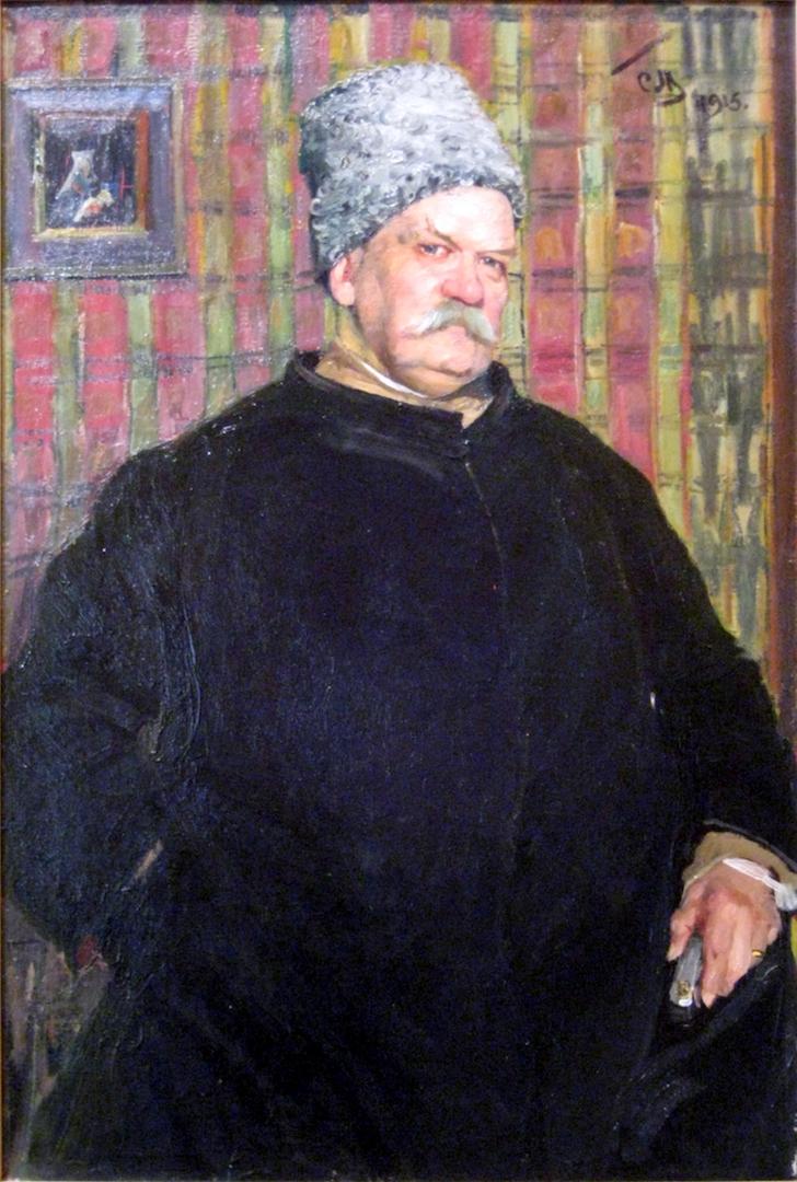 Король репортеров. Владимир Алексеевич Гиляровский (1855—1935). 1915