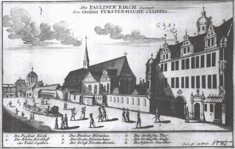 Лейпциг. 1700 г.