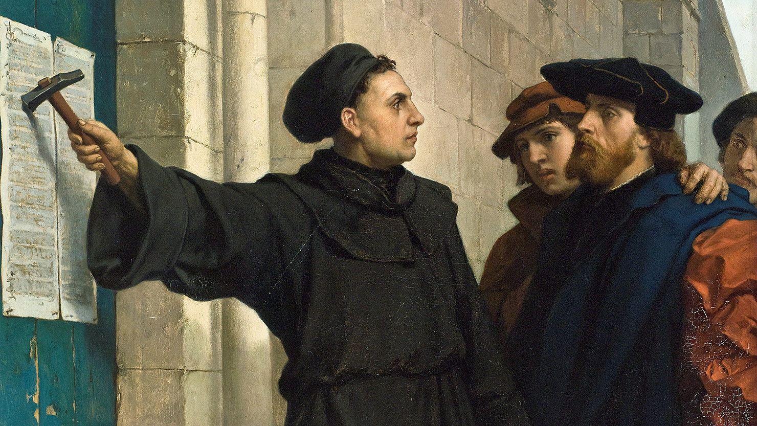 martin luther and the protestant reformation Martin luther (november 10, 1483 to february 18, 1546) was a german monk who began the protestant reformation in the 16th century, becoming one of the most influential and controversial figures in.
