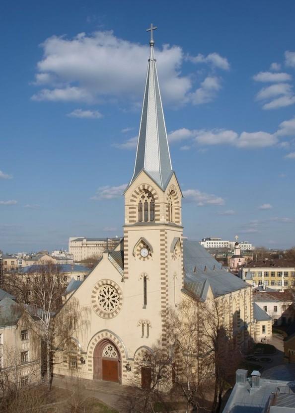 Лютеранский кафедральный собор Св.Петра и Павла в Москве