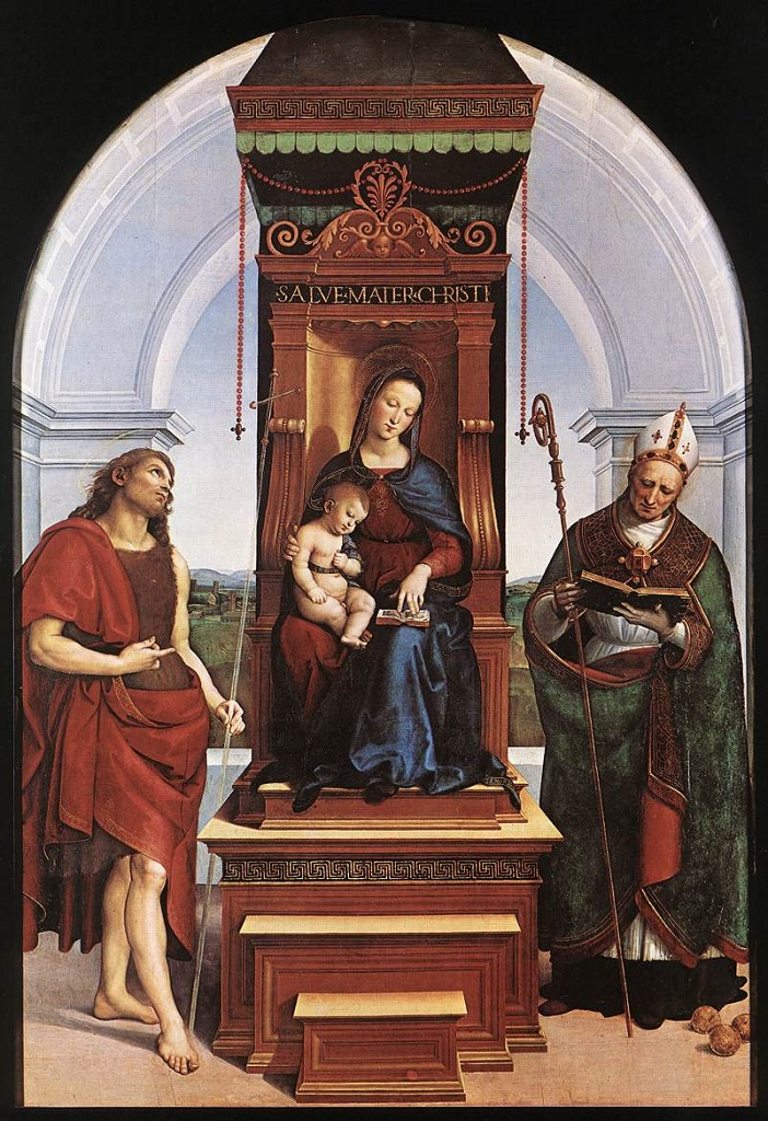 Мадонна Ансидеи. Ок.1505