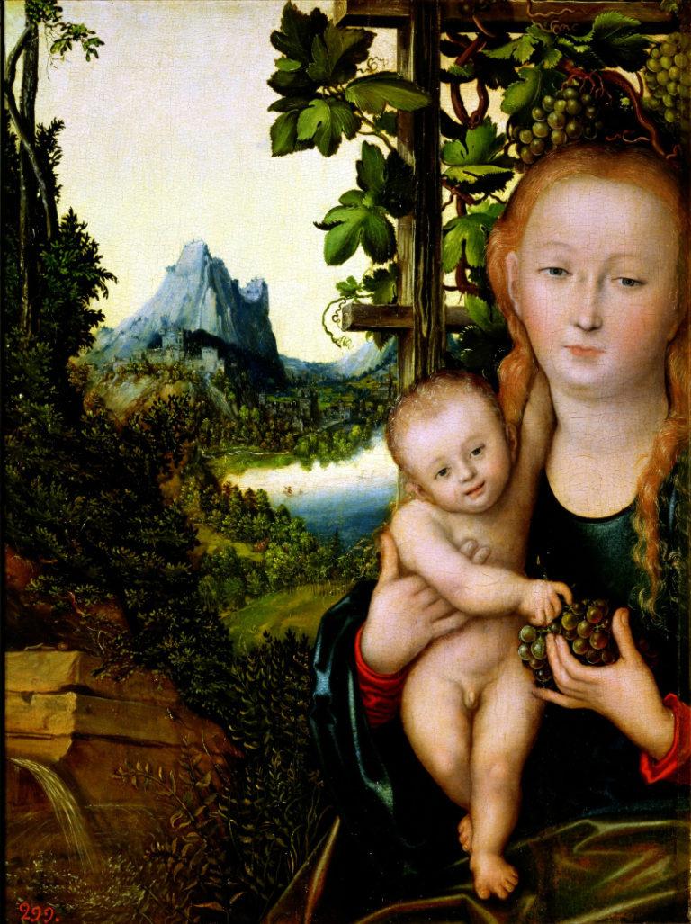 Мадонна с младенцем. 1520