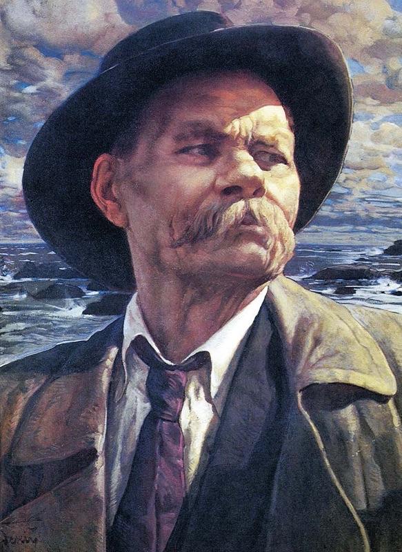Максим Горький (наст. имя Алексей Максимович Пешков, 1868—1936). 1937
