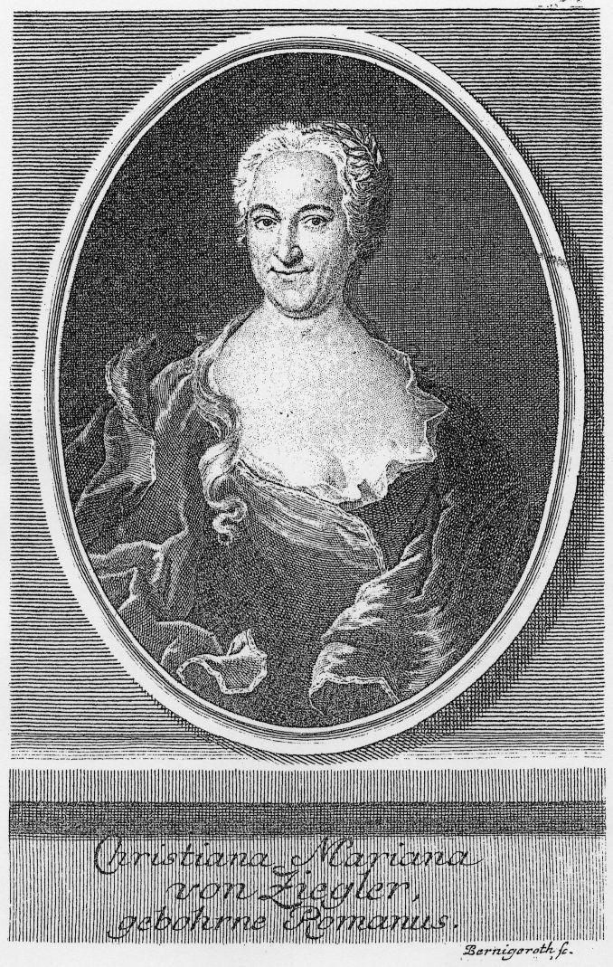 Мариана фон Циглер (нем. Christiana Mariana von Ziegler; 1695–1760)