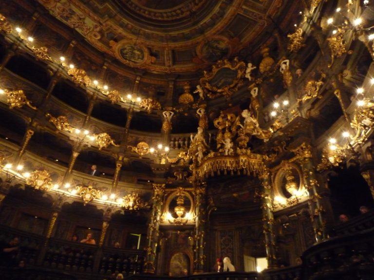 Маркграфский театр (нем. Markgräfliches Opernhaus)