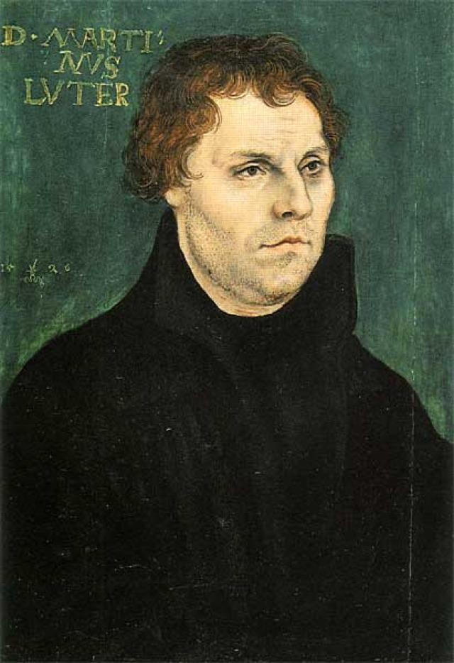Мартин Лютер. 1526