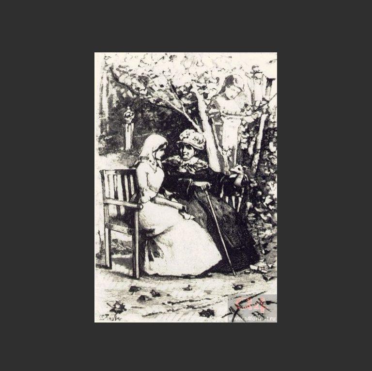 Маша Миронова и императрица Екатерина II
