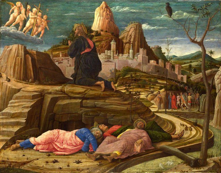 Моление о чаше. 1458-1460