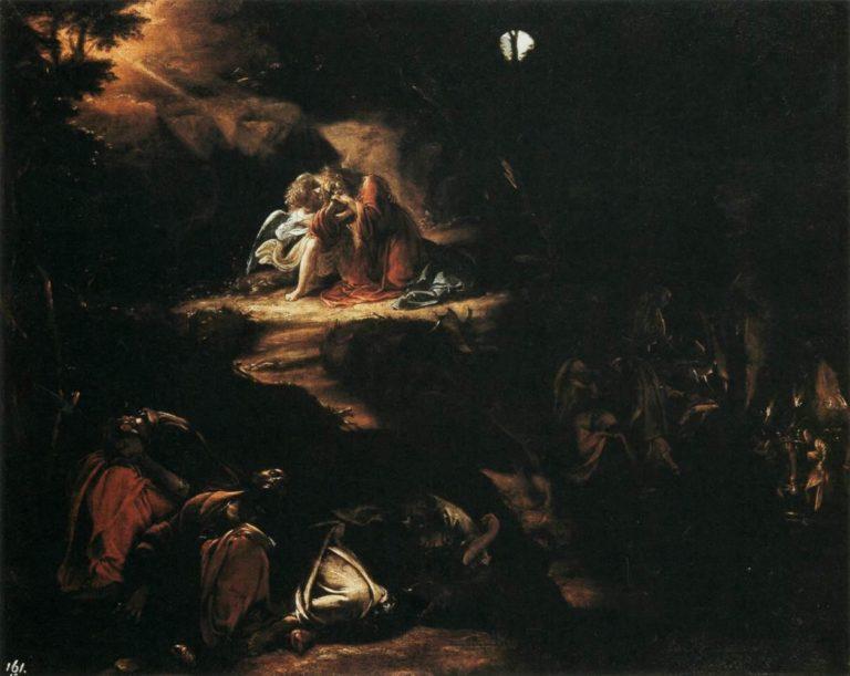 Моление о чаше. 1610