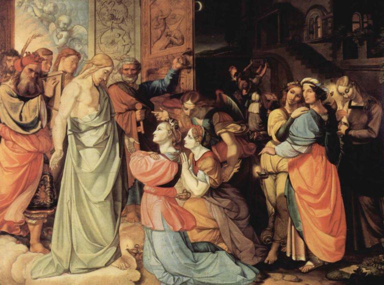 Мудрые и неразумные девы. Ок. 1813