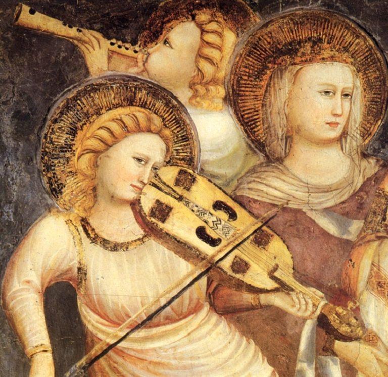 Музицирующие ангелы. 1518-1526