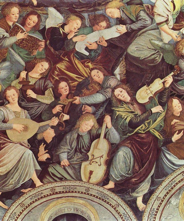 Музицирующие ангелы. 1530-1540