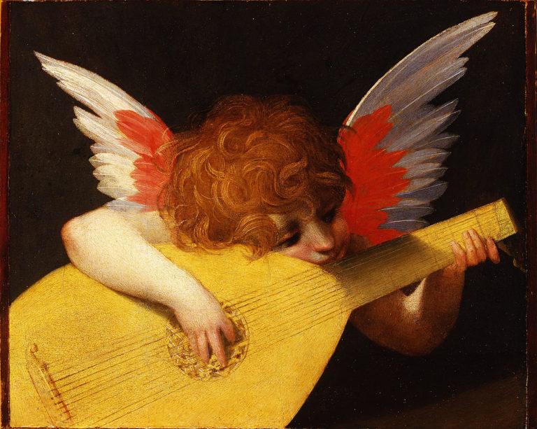 Музицирующий ангел. 1518