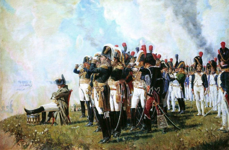 Наполеон I на Бородинских высотах 26 августа 1812 г. 1897