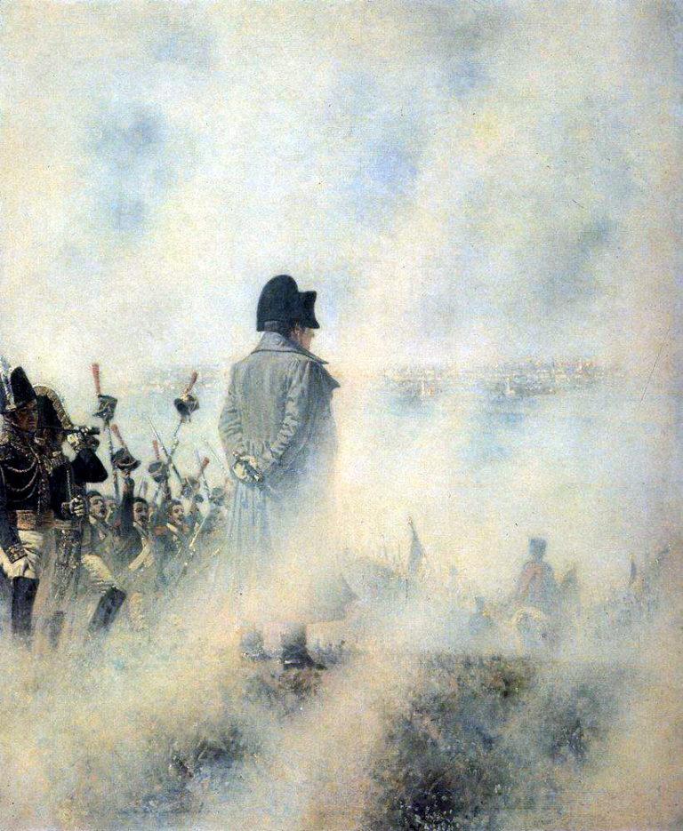 Наполеон перед Москвой в ожидании депутации бояр