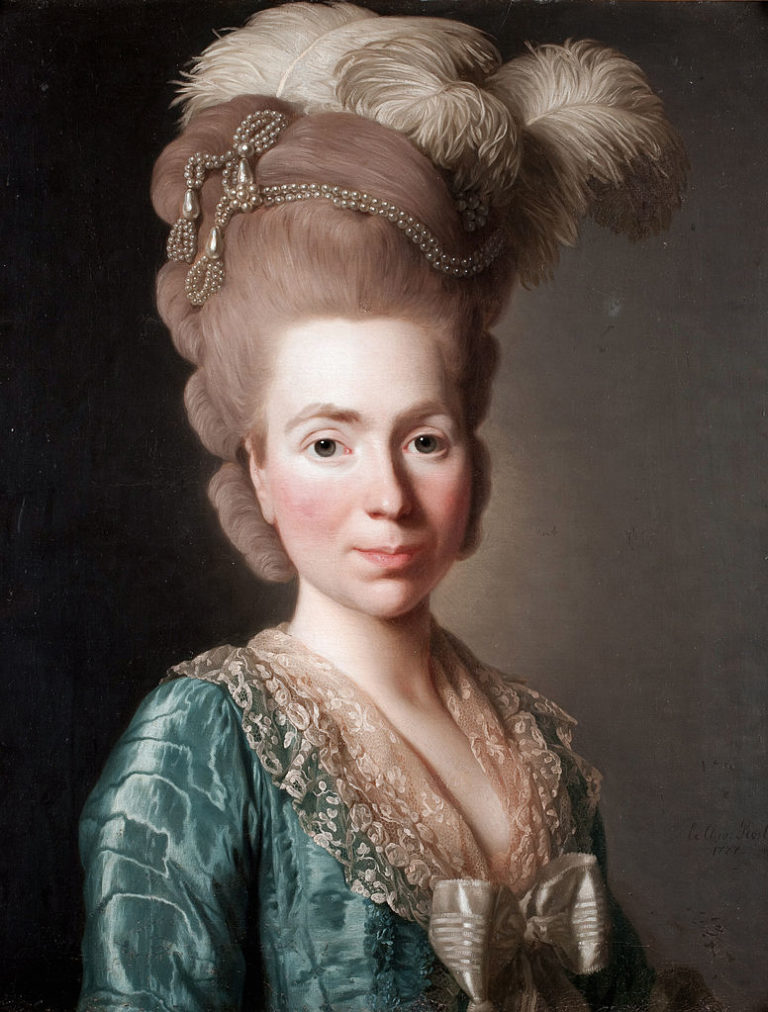 Наталья Петровна Голицына, урожденная Чернышёва (1741-1837). 1777