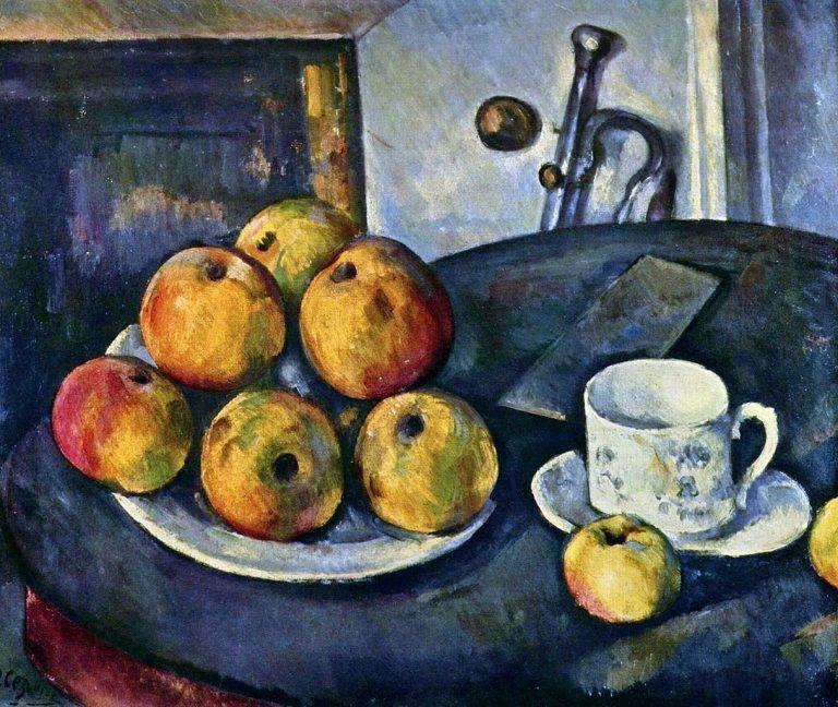 Натюрморт с яблоками. 1894