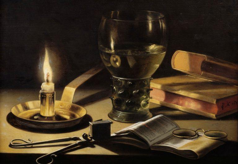Натюрморт со свечой. 1627
