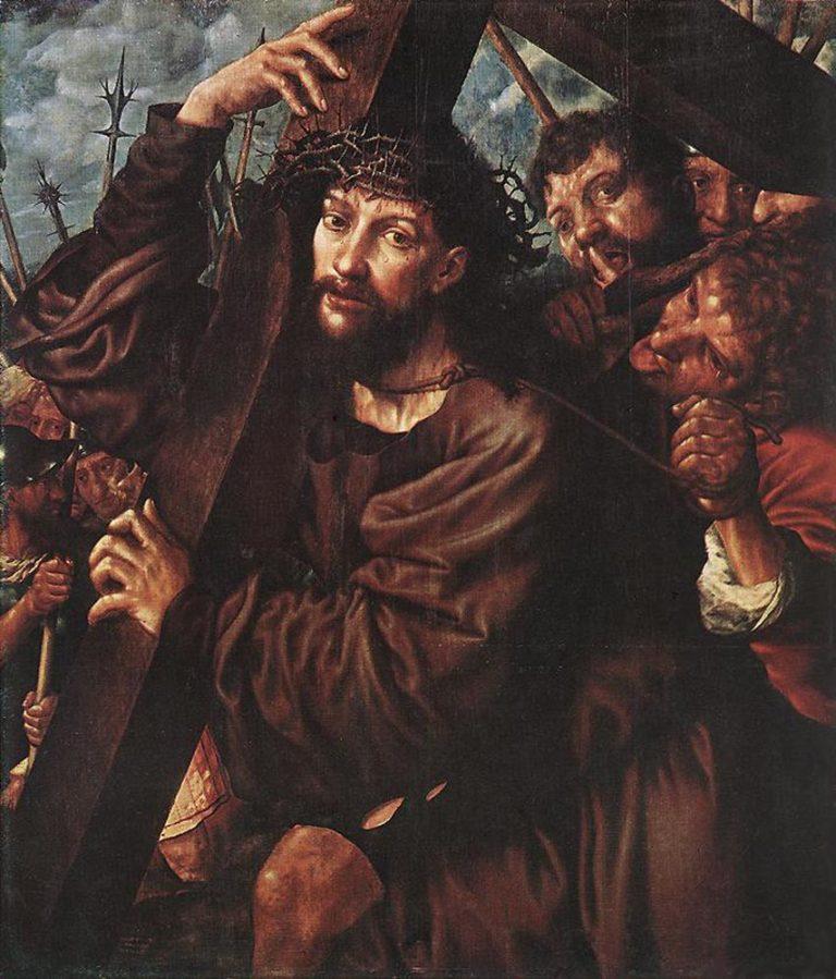 Несение креста. 1553