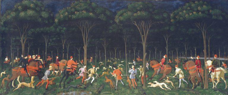 Ночная охота. Ок. 1470