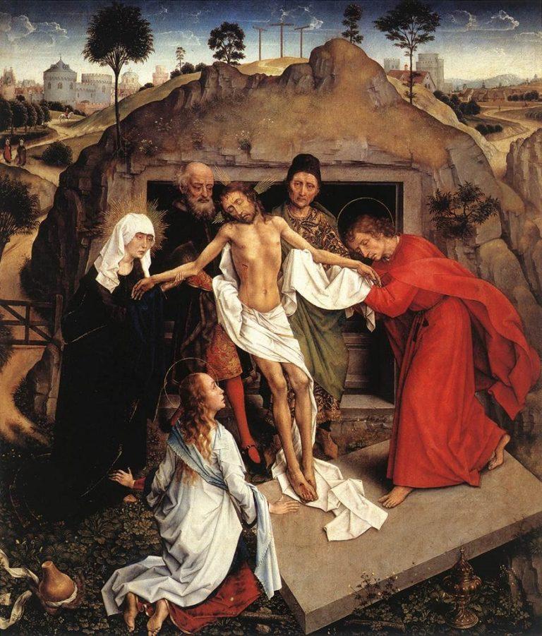 Оплакивание Христа. 1450