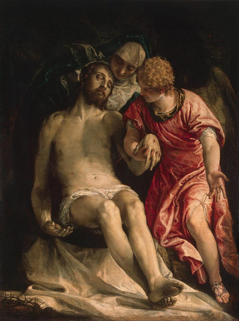 Оплакивание Христа. 1576-1582