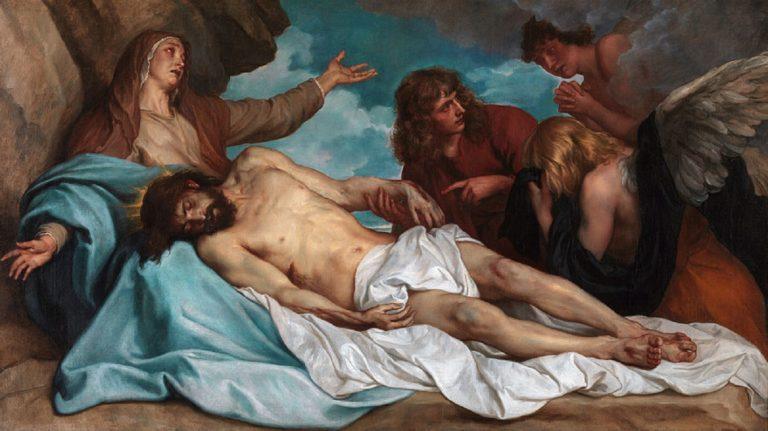 Оплакивание Христа. Ок.1635