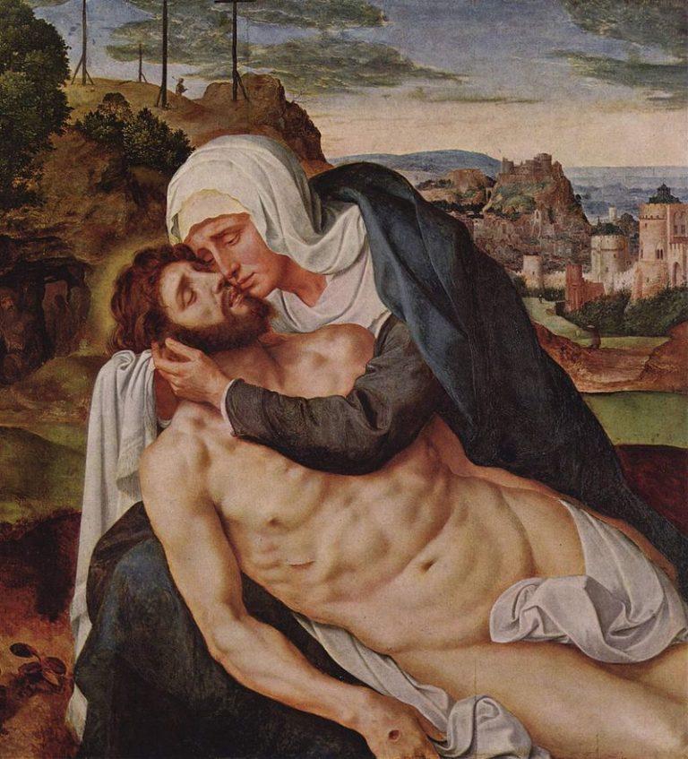 Оплакивание Христа. Вторая треть XVI в.