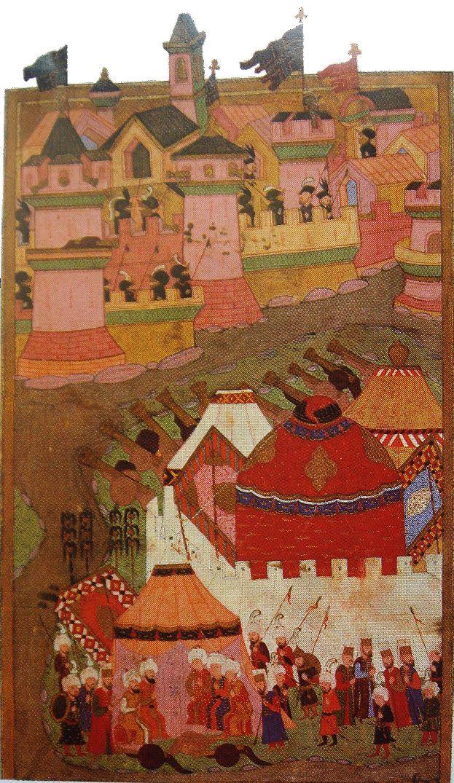 Осада Вены в 1529 г. терецкими войсками. XVI в.