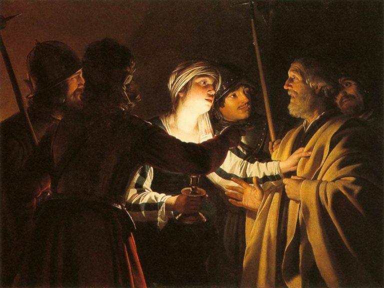 Отречение Петра. 1620-1625
