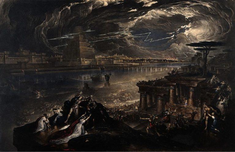 Падение Вавилона. 1819