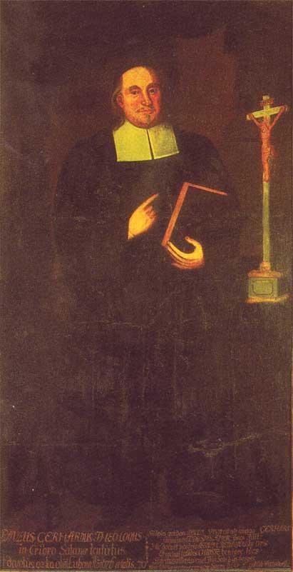 Пауль Герхардт (нем. Paul Gerhardt, 1607-1676). Ок.1700