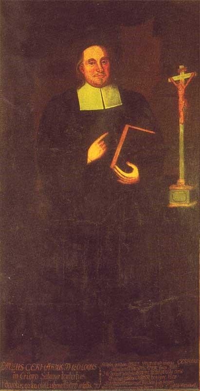 Пауль Герхардт (нем. Paul Gerhardt, 1607-1676). Ок.1700.
