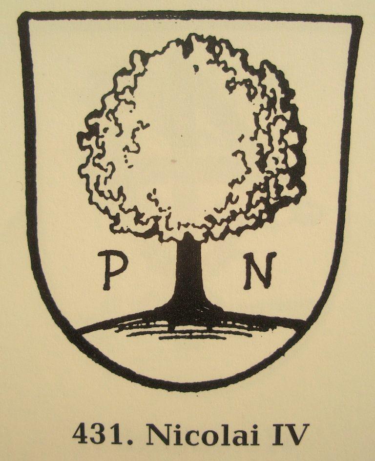 Печать (штемпель) пастора Филиппа Николаи. 1582
