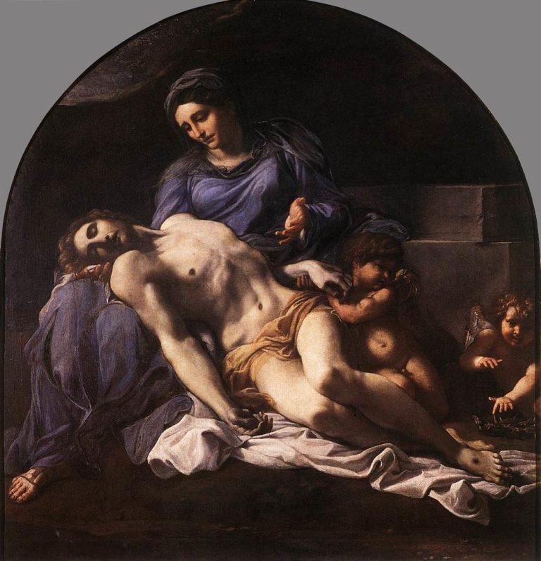 Пьета. 1599-1600