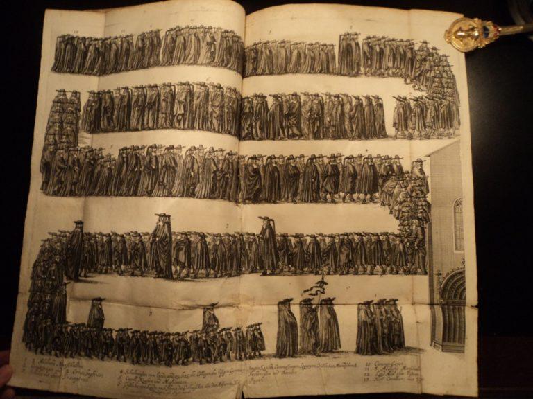 Похороны Эрнста, герцога Саксонского. 1678