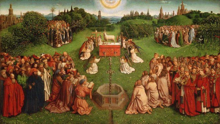 Поклонение Агнцу. 2 половина XV в.