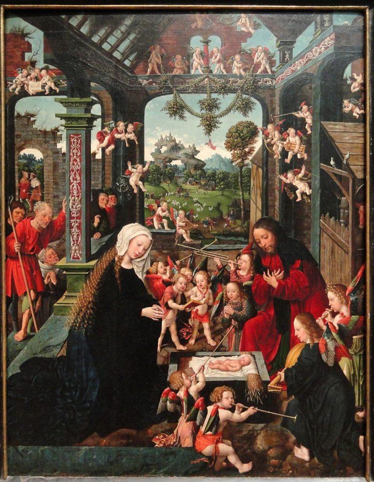 Поклонение Младенцу Иисусу. Ок. 1515