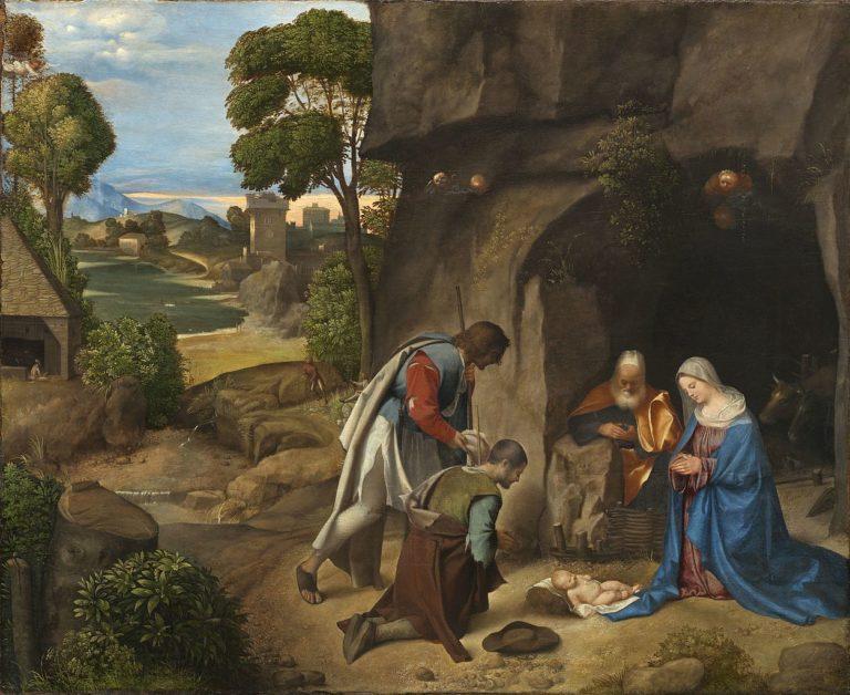 Поклонение пастухов. 1500-1510