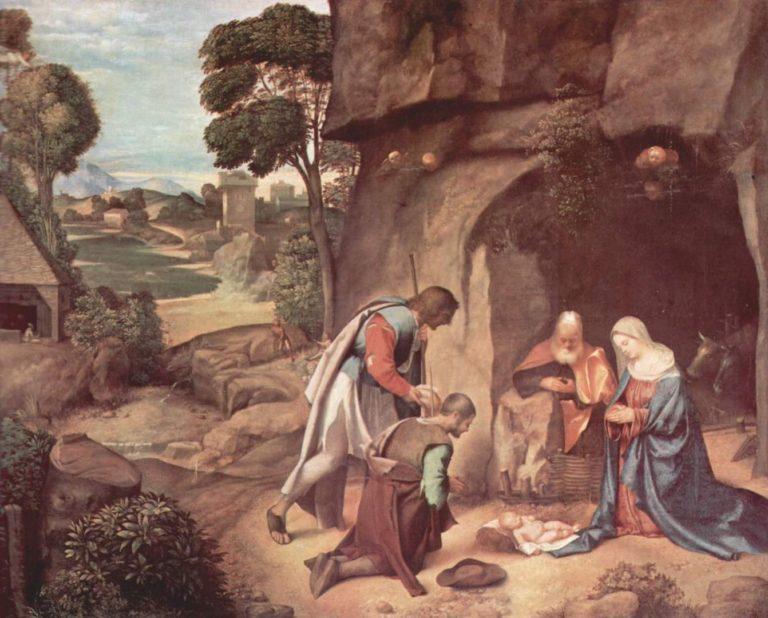Поклонение пастухов. 1505—1510