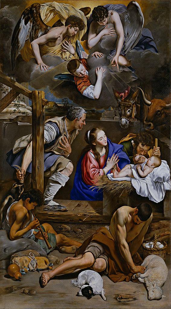 Поклонение пастухов. 1611-1613