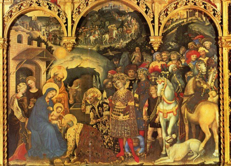 Поклонение волхвов. 1423