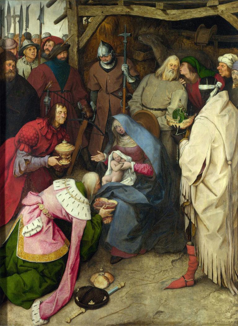 Поклонение волхвов. 1564