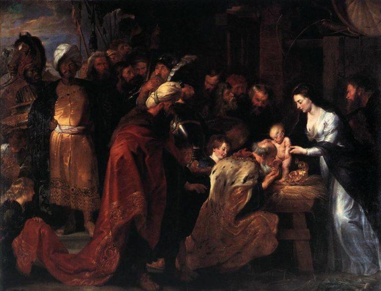Поклонение волхвов. 1617–1618
