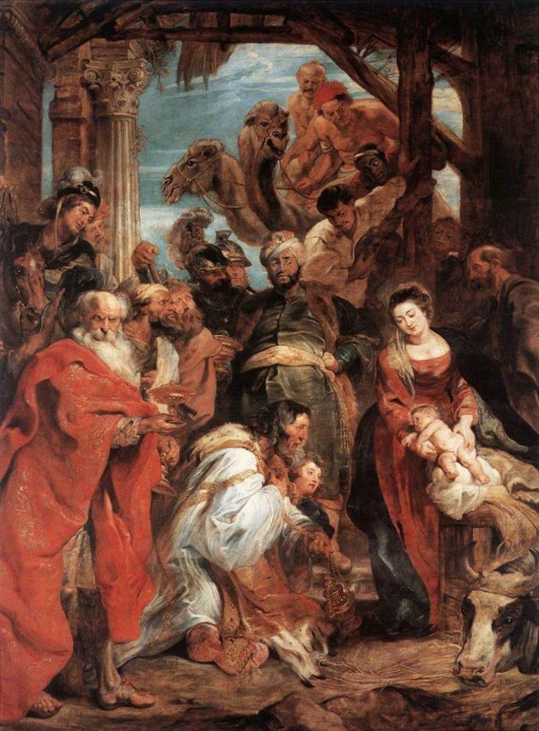 Поклонение волхвов. 1624