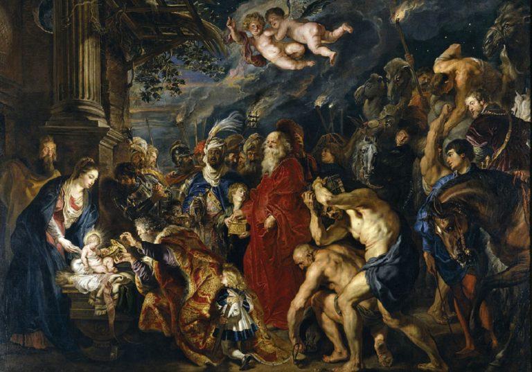 Поклонение волхвов. 1628-1629