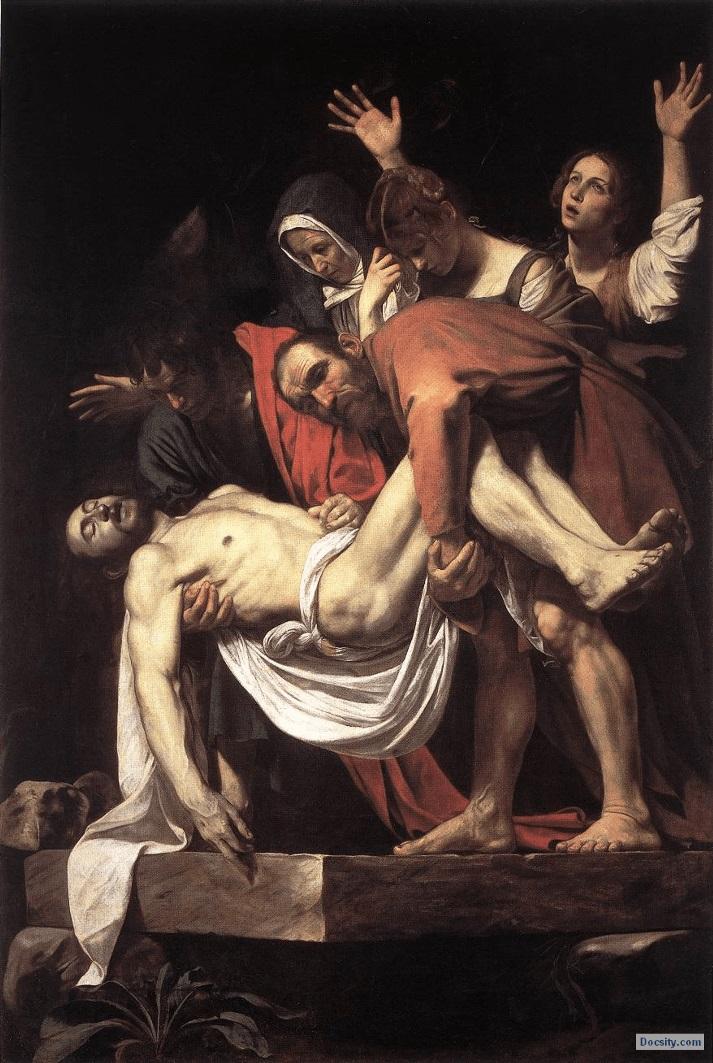 Положение во гроб. 1602