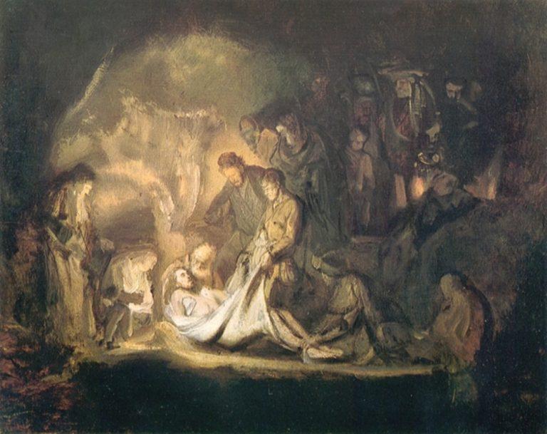 Положение во гроб. 1635