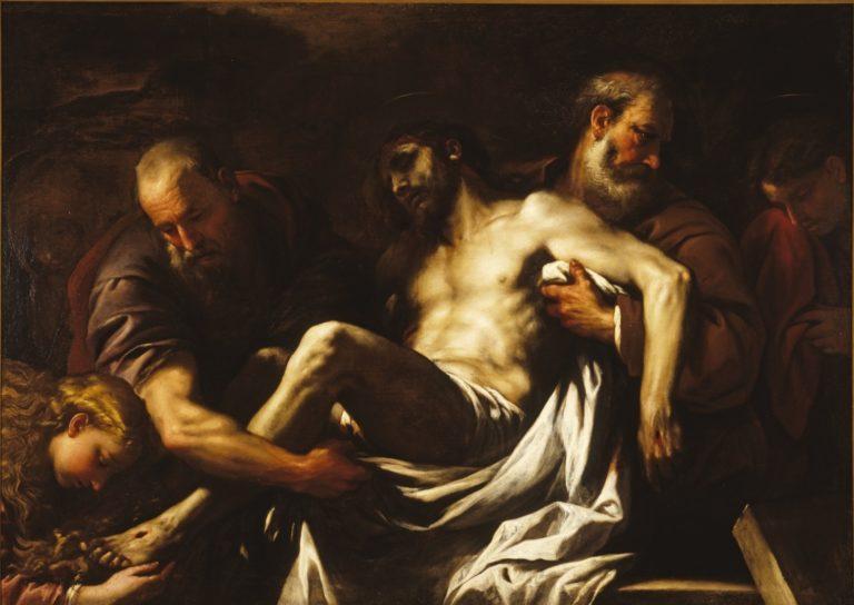 Положение во гроб. 1659-1660