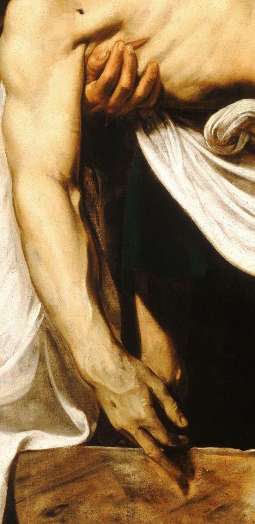 Положение во гроб. Деталь. 1602